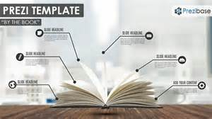 how to book template by the book prezi template prezibase