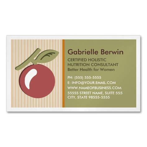 holistic business cards templates 1575 best images about health nutrition business cards on