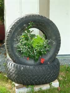more tire planters gardening
