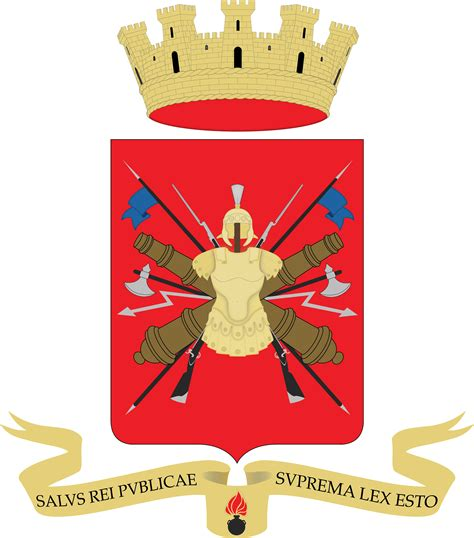 salus rei publicae suprema esto stemma araldico dell esercito