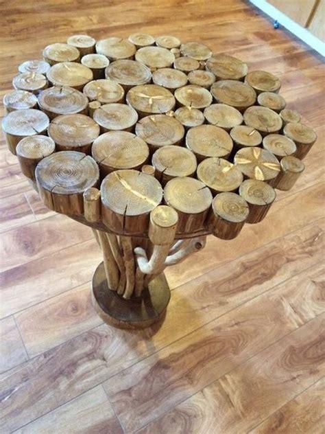 tree branch side table  bowtangles  lumberjockscom