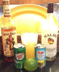 captain spiced rum and pineapple juice best captain coconut rum or you can use all