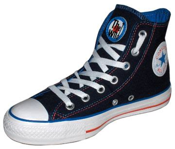 Kickers Gorilaz Hight Boot ct who jump hi blue blue white the who jump