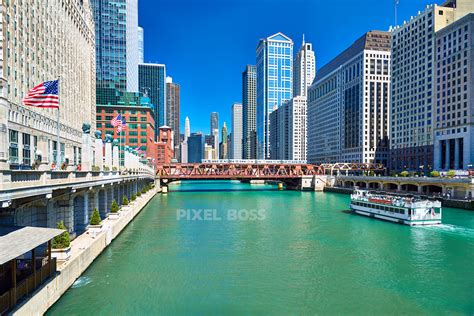 boat walk definition chicago riverwalk ferry boat and the loop train pixel