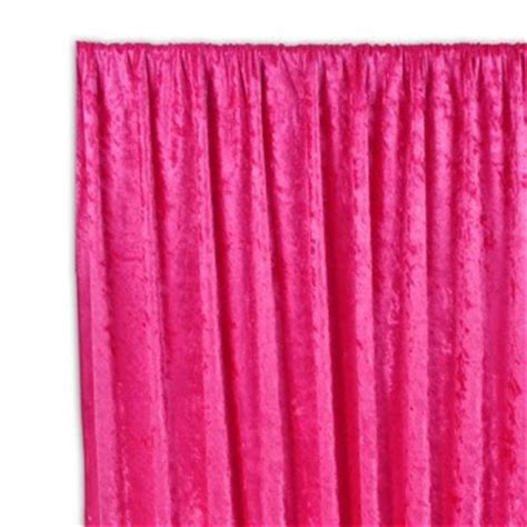 hot pink curtain panels storybook living beauty and the beast inspired furniture