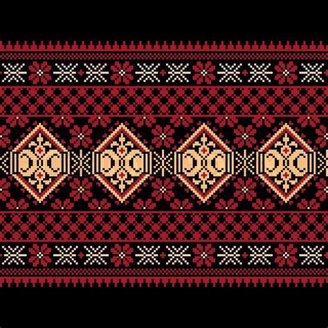 ukrainian pattern vector vector illustration of ukrainian folk seamless pattern