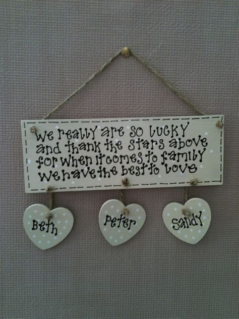 family plaques precious plaques gifts