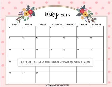 cute printable monthly planner 2016 cute free printable 2016 calendars home printables