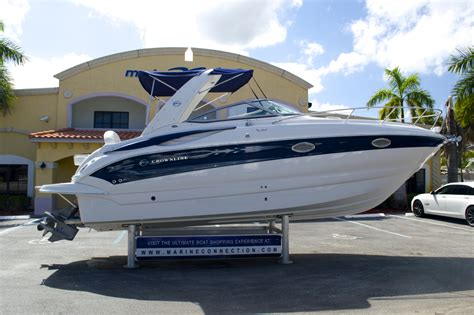 crownline outboard boats for sale used 2005 crownline 270 cr cruiser boat for sale in west