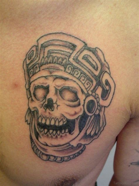 aztec warrior tattoo 50 aztec tattoos designs on chest