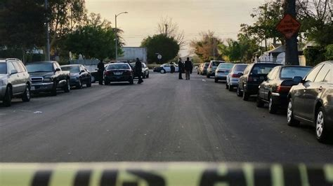 Shooting L by Gunned In Apartment Parking Lot Id D Nbc Southern California