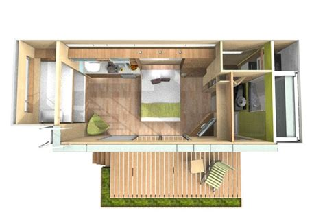 tiny container homes casa cubica shipping container transformed to a micro home