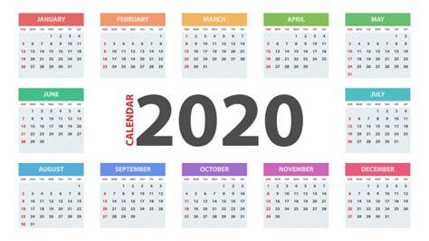 calendar template  year vector premium