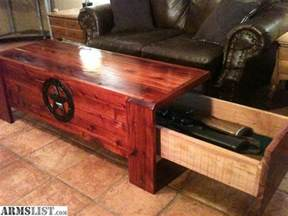 Coffee Table Gun Cabinet Armslist For Sale Concealed Firearm Coffee Table