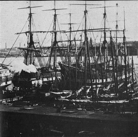 u boat new york harbor fitz henry lane the quot golden state quot entering new york
