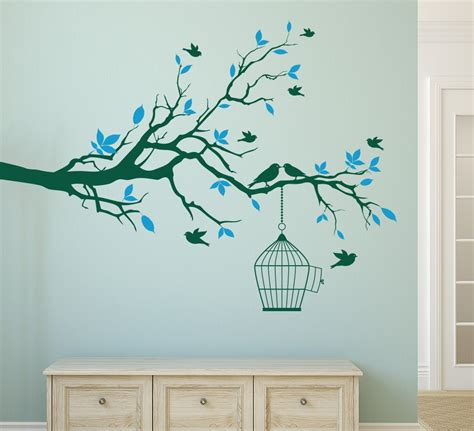 tree of wall decoration branch shells home
