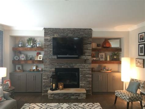 cabinets next to fireplace image result for built in floating shelves narrow lounge