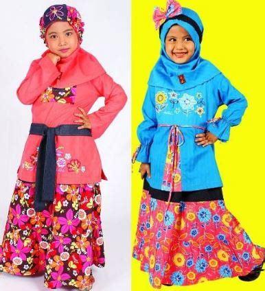 Model Baju Muslim Anak 33 gambar model baju muslim anak perempuan terbaru 2017