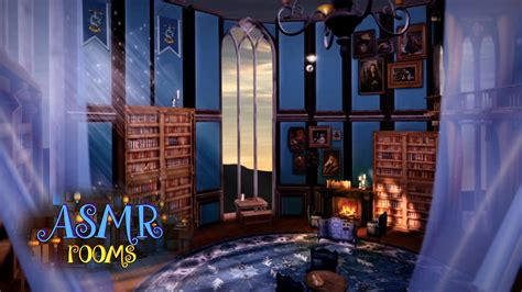 harry potter room harry potter asmr ambience ravenclaw tower common room