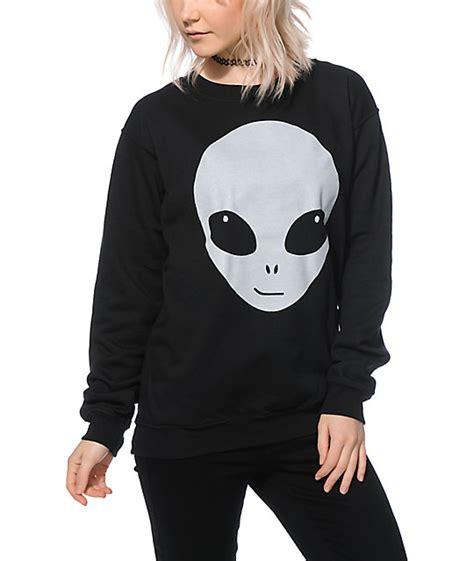 Jaket Sweater Hoodie Dcshoeco Must Buy Glow a lab glow in the crew neck sweatshirt zumiez