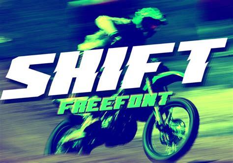 shift font befontscom