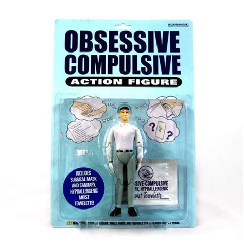 Obsessive Compulsive Action Figure   Gifts For Men