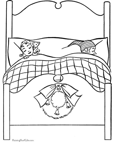 page bedding christmas printable coloring pages parents sleeping