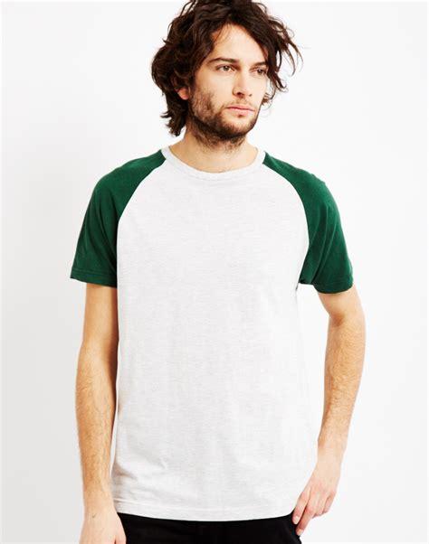 Raglan 02 From Ordinal Apparel the idle sleeve raglan t shirt green in green for lyst