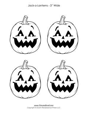printable images of jack o lanterns jack o lantern templates