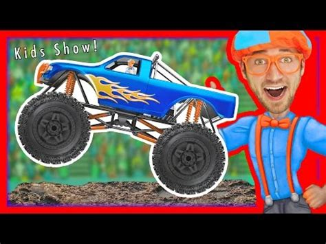 monster truck music videos monster truck song educational videos for preschoolers