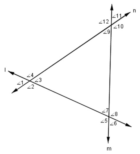 if two parallel lines are cut by a transversal vertical