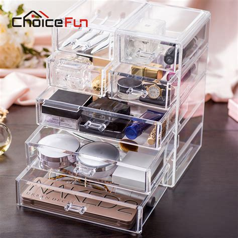 aliexpress buy acrylic makeup organizer aliexpress buy choicefun 2016 top selling acrylic makeup storage box clear cosmetic chest