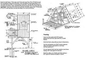 treehouse floor plans free tree house floor plans
