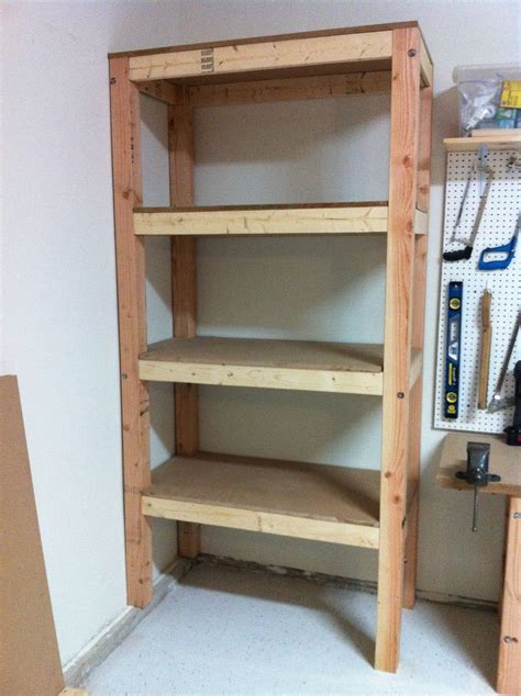 diy storage diy garage shelving ideas shelves 3 4 mdf board