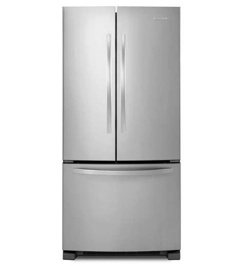 kitchenaid 5 drawer refrigerator counter depth kitchenaid 174 22 cu ft standard depth french door