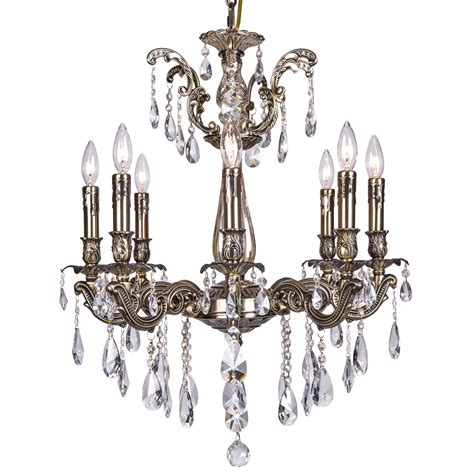 Spectra Chandelier joshua marshal 700117 007 8 light chandelier in bronze finish with swarovski spectra tear