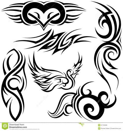 tribal tattoos vetor tatuagens tribais fotos de stock royalty free imagem