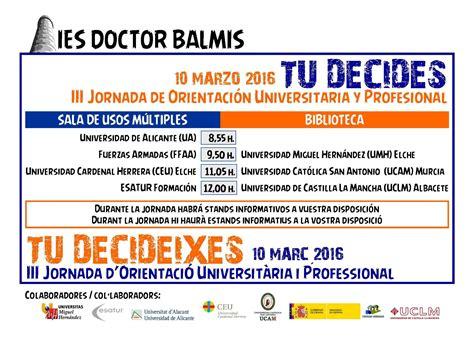 Calendario Escolar Uclm 2015 Ies Doctor Balmis Actividades