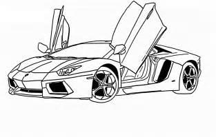 Lamborghini Pictures To Color Free Coloring Pages Of Lamborgini Aventador