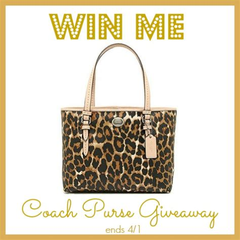 Free Purse Giveaway - love laughter foreverafterenter to win in our spring coach purse giveaway