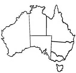 Australian Outline Map by Australia Continent Outline Map Clipart Best