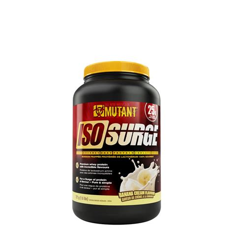 Mutant Whey 6lbs Mutant Iso Surge 100 Gourmet Whey Protein Isolate