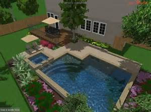 Inground Pools For Small Backyards Small Inground Pools For Small Yards Igp Spa Build Construction Trouble