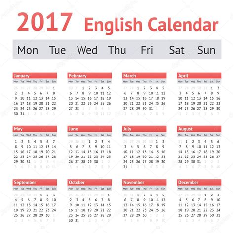 new year 2017 week calend 225 ingl 234 s europeu de 2017 semana come 231 a na