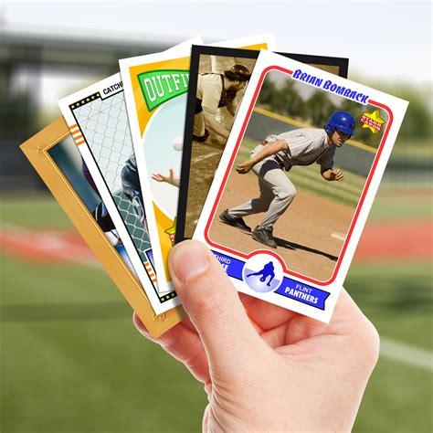 make a baseball card make your own baseball card with cards
