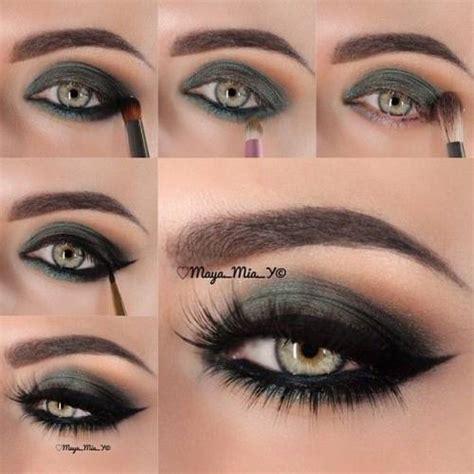 make beautiful maquiagem verde 10 makes passo a passo