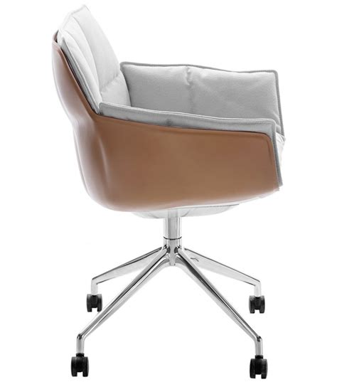husk b b italia small armchair with wheels milia shop