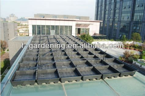 Roof Top Planters by Plastic Rooftop Planters View Rooftop Planters Sol