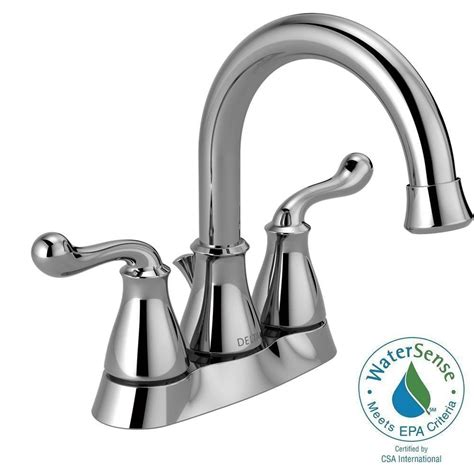 bathtub faucet assembly delta southlake 4 in centerset 2 handle bathroom faucet