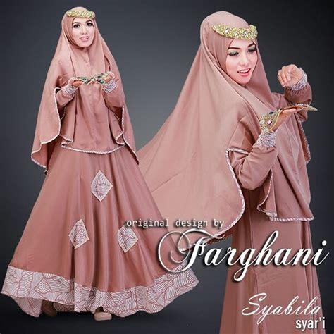jual baju gamis modern terbaru syabila syari by farghani